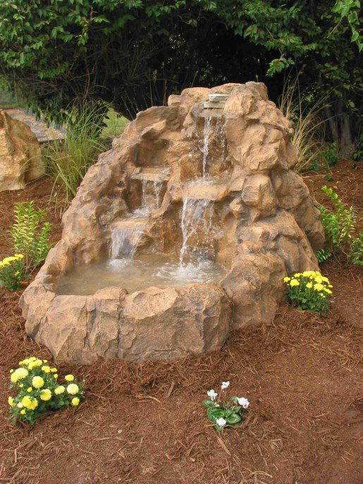 Small Rock Fountain