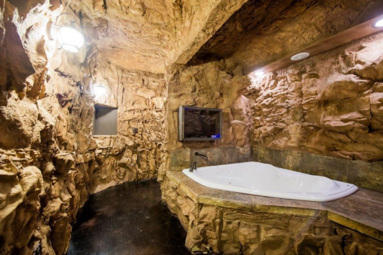 Rock Bathroom Interior